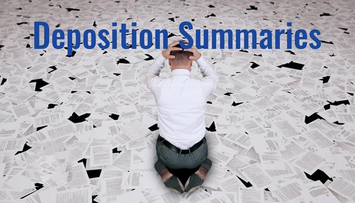 Deposition Summary