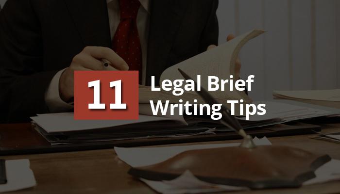 Writing Legal Brief