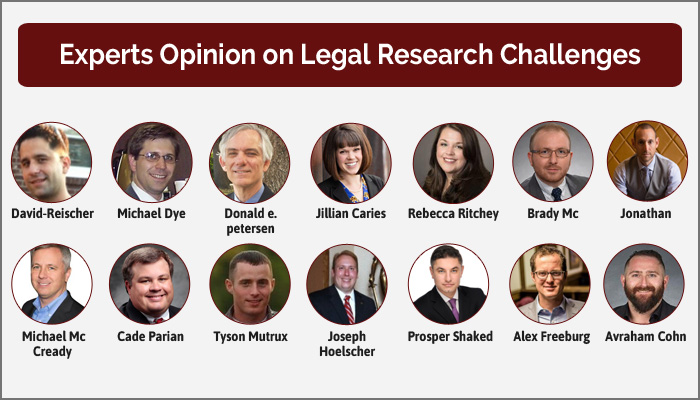Legal Research Challenges